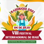 RAMIRIQUÍ CELEBRARÁ EL FESTIVAL INTERNACIONAL DEL MAÍZ 2021.